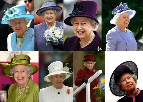 Головные уборы королевы Елизаветы II