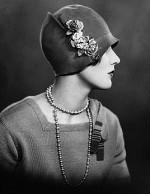 Женский головной убор шляпка клош