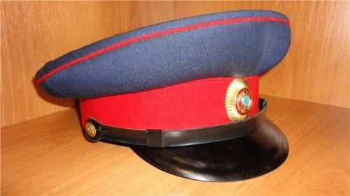 Фуражка для комиссаров милиции