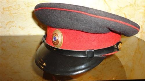 Фуражка с кокардой для рядового милиции