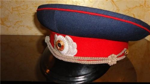 Парадно-выходная фуражка милиции