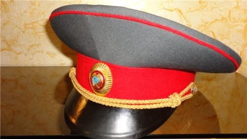 Повседневная фуражка для полковников милиции