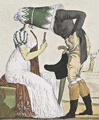 Карикатура на капор
