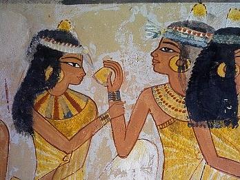 Парики египтян