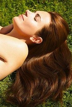 Сила блестящих волос